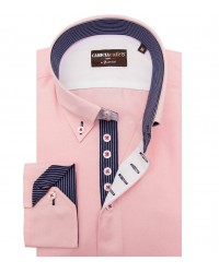 Shirt Roma Cotton Polyester Pink