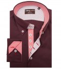 Shirt Roma Red Bordeaux