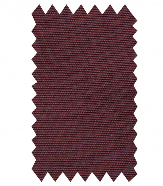 Shirt Roma Cotton Polyester Red Bordeaux