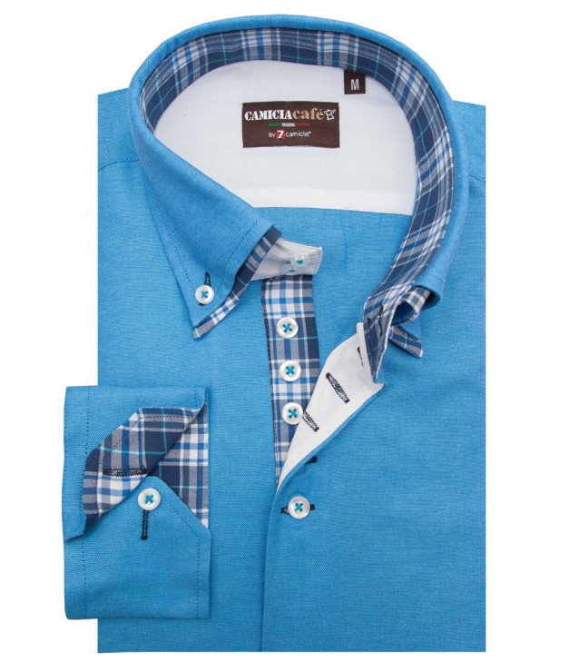 Shirt Marco Polo Turquoise