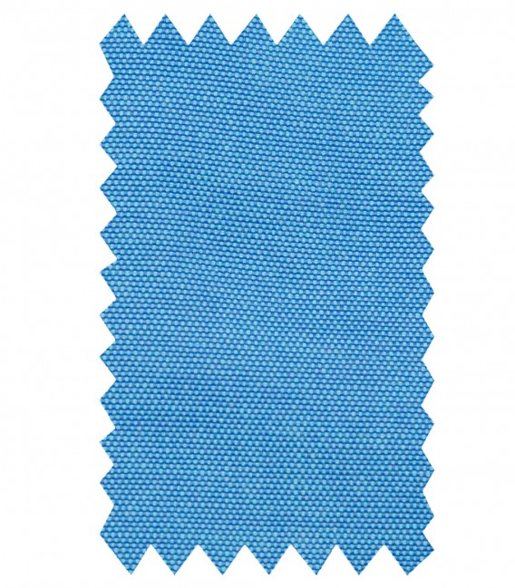 Chemises Marco Polo Coton Polyester Turquoise