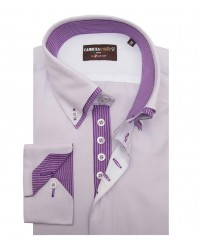 Shirt Marco Polo Cotton Polyester Lilac