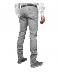 trousers Ischia cotton gabardine Light Grey