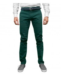 trousers Ischia cotton gabardine Dark Green