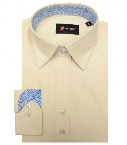 Camicia Linda Oxford Giallo