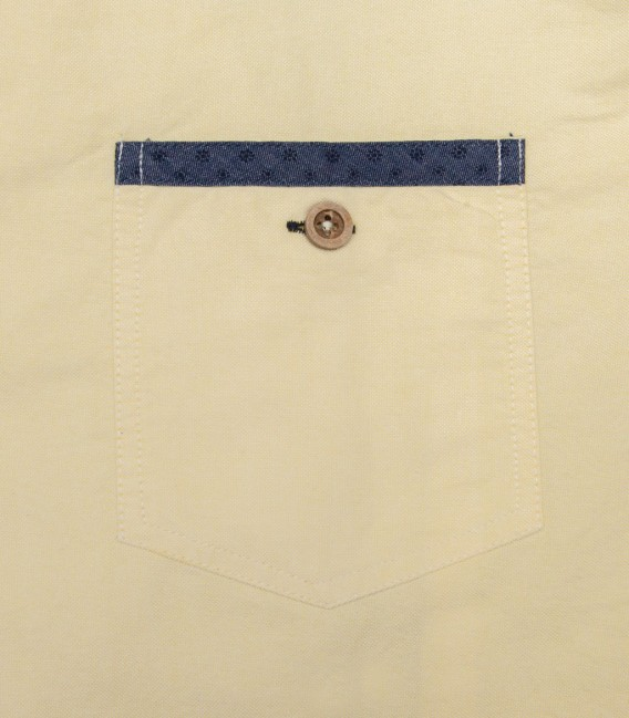 Shirt Marco Polo Satin Blu