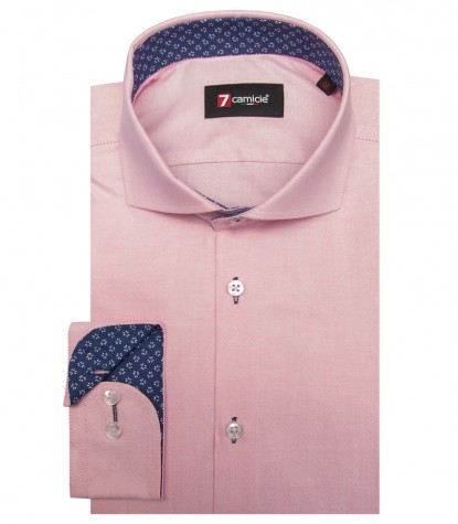 Shirt Firenze Oxford Light Red