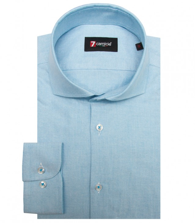 Shirt Firenze Oxford Turquoise