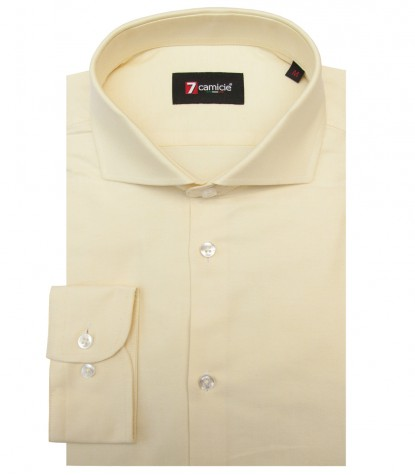 Camicia Firenze Oxford Giallo