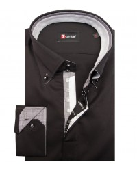 Shirt Roma Satin Black