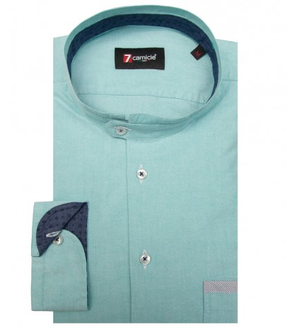 Shirt Caravaggio Oxford Water Green