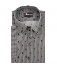 SHIRT LEONARDO BLACK AND WHITE