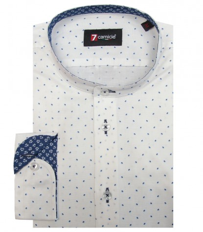 Shirt Caravaggio Oxford WhiteBlue