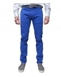 trousers Ischia twill Bluette