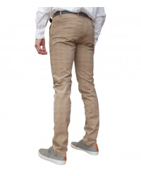 trousers Ischia twill Burnt Brown