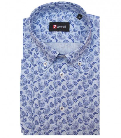 Shirt Leonardo Cotton Ligth BlueBlue