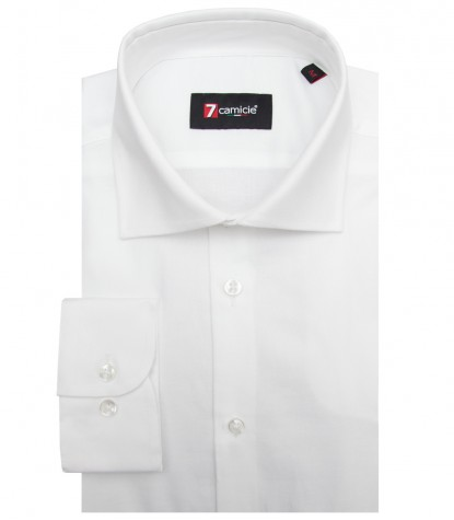 Chemises Firenze Oxford blanc