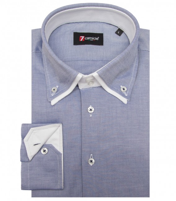 Shirt Marco Polo Oxford Blu