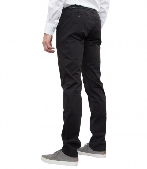 trousers Ischia twill Black