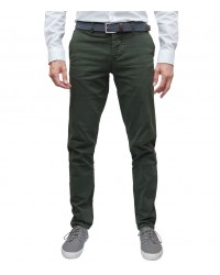 trousers Ischia twill Military Green