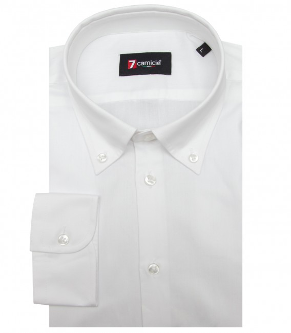 Shirt Leonardo twill White