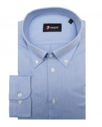 Shirt Leonardo twill Light Blue