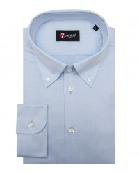 Shirt Leonardo Oxford Light Blue