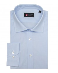 Shirt Firenze Fil a fil Light Blue