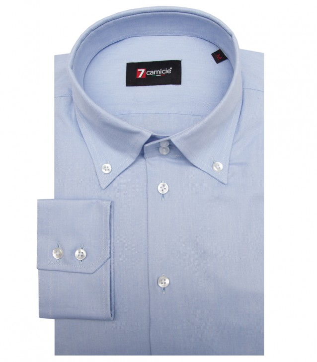Shirt Roma Oxford Light Blue