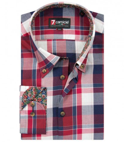 Shirt Leonardo RedBlue