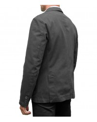 Jacket Roma twill Grigio Scuro