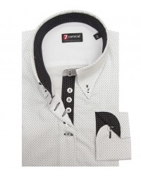 Shirt Silvia Cotton WhiteBlack