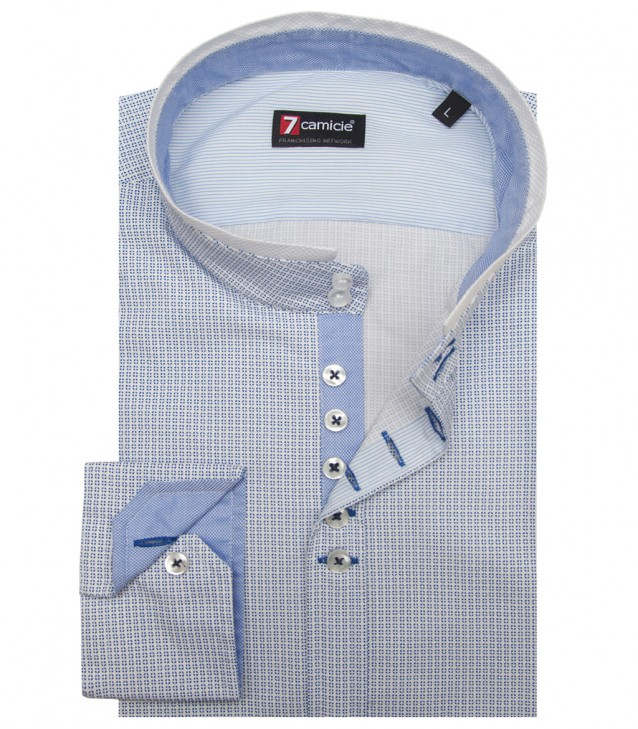 Shirt Caravaggio Cotton White Bluette