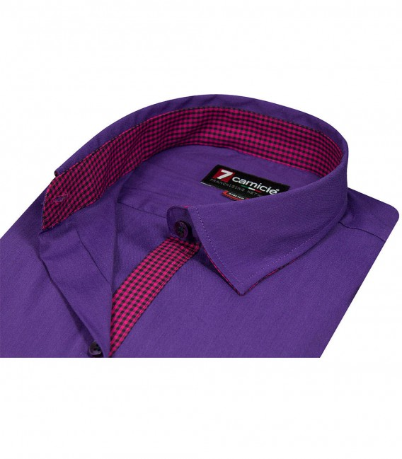 Shirt Giulietta Nylon cotton Violet