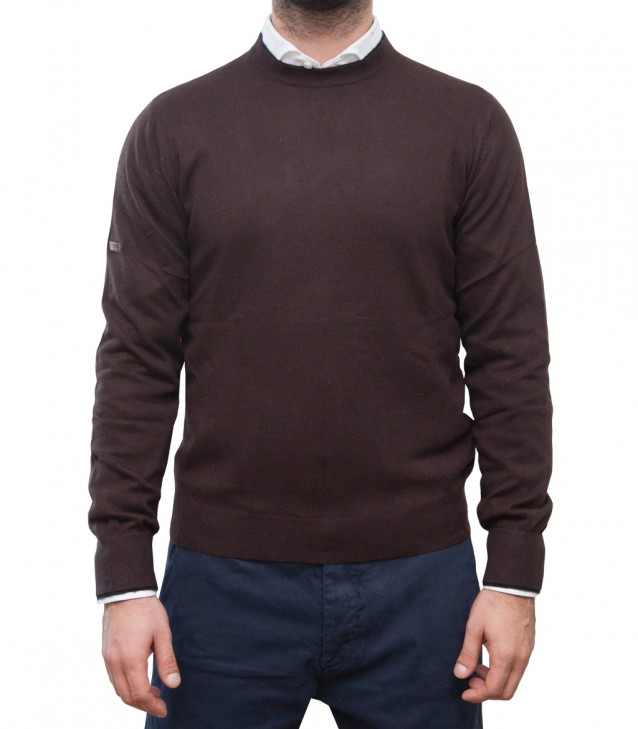 Knitewear Milano Blended Cachemire BrownBlue
