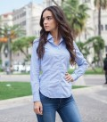 Shirt Linda Cotton BlueWhite