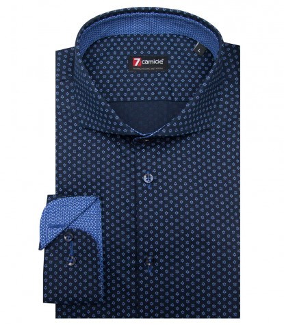 Camicia Firenze Oxford Blu Scuro Avion