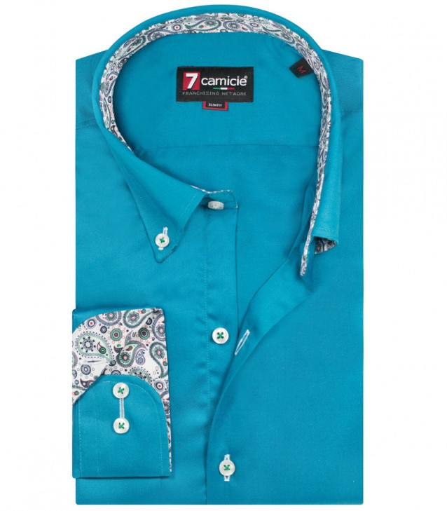 Shirt Leonardo Teal Green