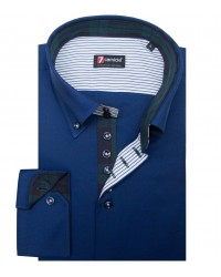 Shirt Roma Oxford Blu