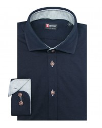 Shirt Firenze Jersey cotton Blu