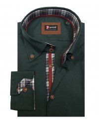 Shirt Roma Oxford Dark Green