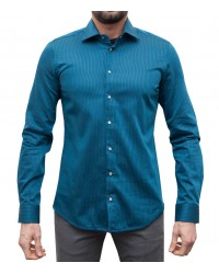 Camicia Firenze double face blu e nero