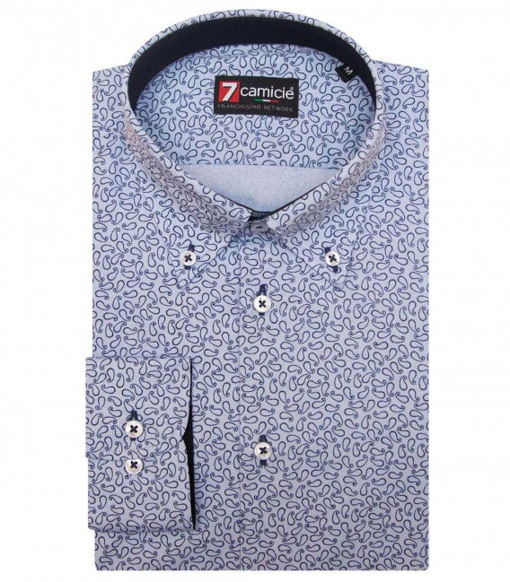 Shirt Leonardo Light BlueBlue