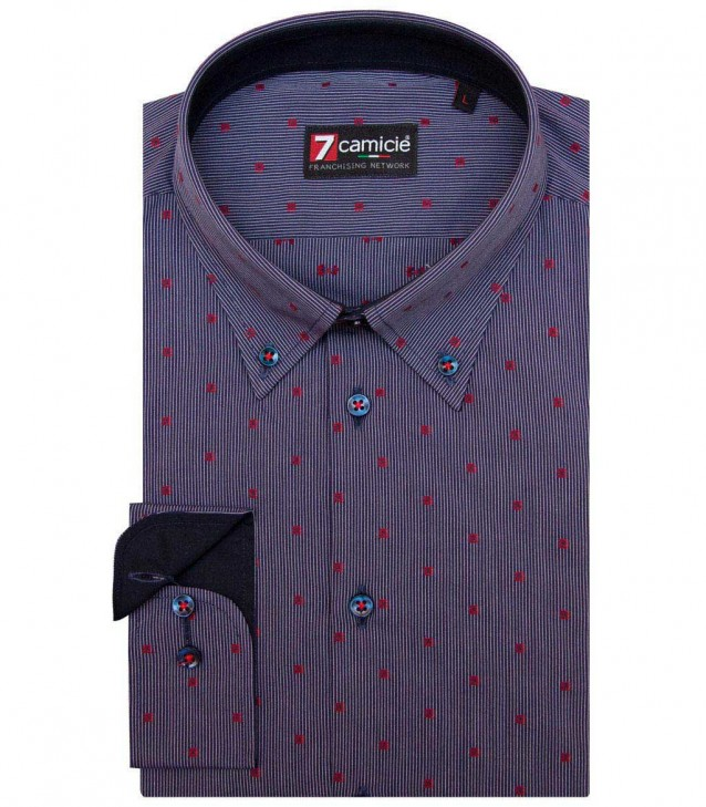 Shirt Leonardo BlueRed