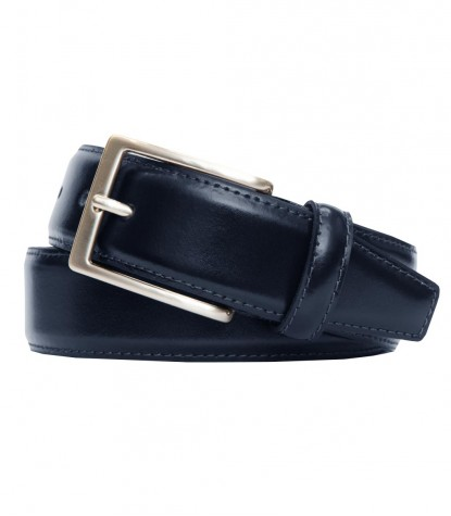 Belt Roma Leather Blu