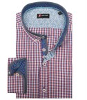 Shirt Leonardo Super oxford WhiteRed