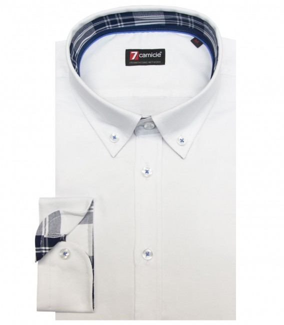 Shirt Leonardo Oxford White