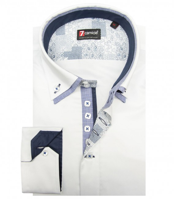 Shirt Marco Polo Satin White