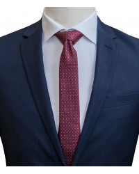 Ties Navona Silk RedBlue