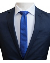 Ties Navona Silk Light BlueWhite